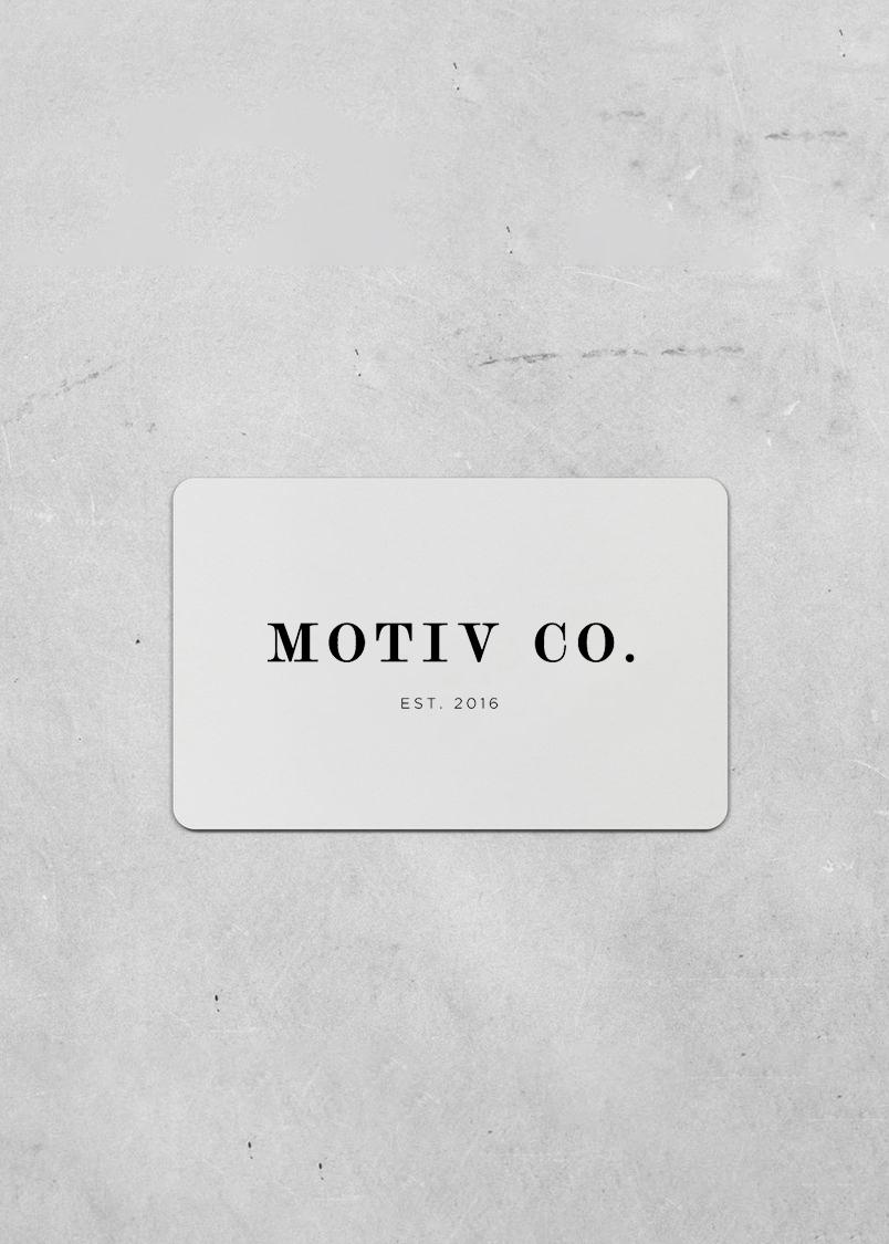 Motiv Gift Card v2